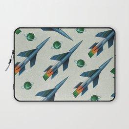 Rockets Pattern Laptop Sleeve