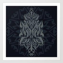 SARAWAK MYSTICA Art Print