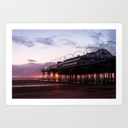 The Pavilion Sunrise Art Print