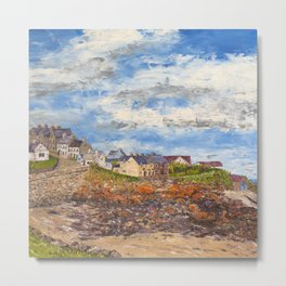 Moelfre Anglesey Metal Print