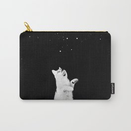 Kitty See Snow Carry-All Pouch