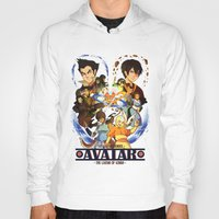 avatar the last airbender Hoodies featuring Team Avatar by Willow