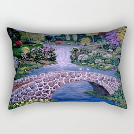 My Garden - by Ave Hurley Rectangular Pillow