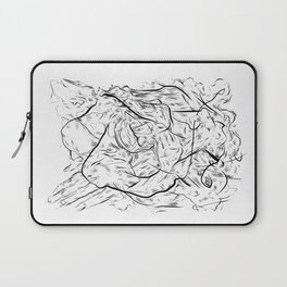 One hand in two pockets. Laptop Sleeve