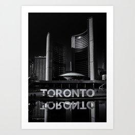 Toronto City Hall No 1 Art Print