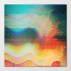 Glitch 01 Canvas Print