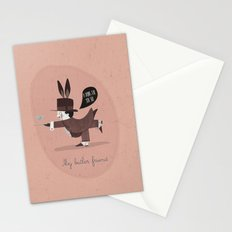 My butler friend Stationery Cards