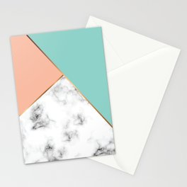 Marble Geometry 056 Stationery Cards