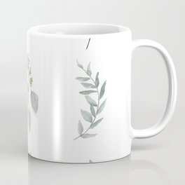 Botanical elements Coffee Mug