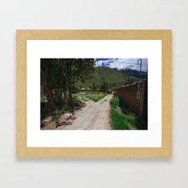 Ollanta Trail Framed Art Print