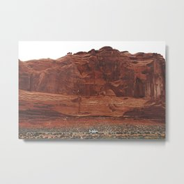 Tiny Van Metal Print