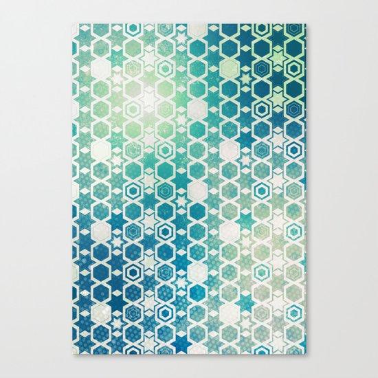 Stars Pattern #003 Canvas Print