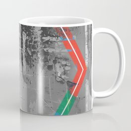 Color Chrome - B/W graphic hex Coffee Mug