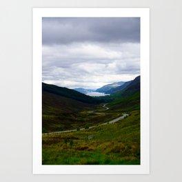 Loch Maree - Scotland Art Print