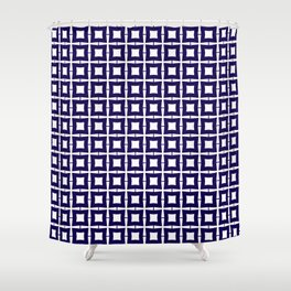 Blue Crush No. 38 Shower Curtain