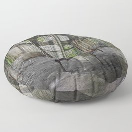 Every Waking Moment Floor Pillow