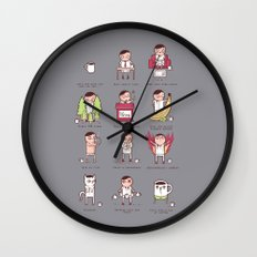 Just one more cup Wall Clock