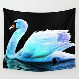 Swan Fantasy Wall Tapestry