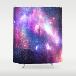 Starry Space - Intergalactic Dust Shower Curtain