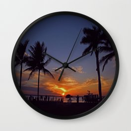 Perfection in Pineland Wall Clock