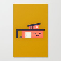 Modern Home Canvas Print
