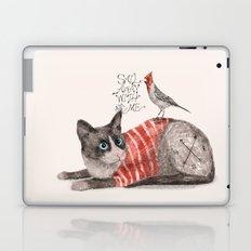 Snowshoes & Littlebird Laptop & iPad Skin