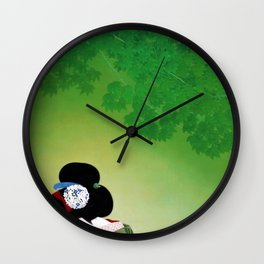 Kitano Tsunetomi - Top Quality Art - For Fun Wall Clock