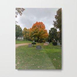 Autumn in Eternity Metal Print