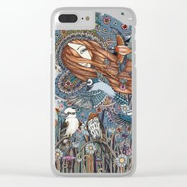 Synchronicity (The World) Clear iPhone Case