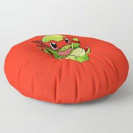 TMNT_POKET_MONSTER_RED Floor Pillow