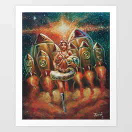 """The Rockette"" Art Print"