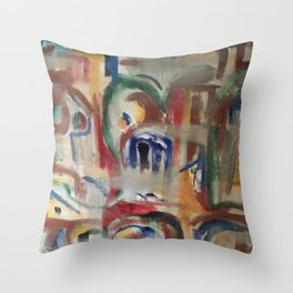 Archive Throw Pillow