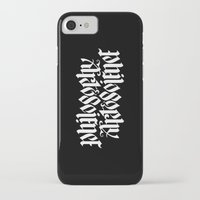philosophy iPhone & iPod Cases featuring Philosophy, Art & Science by John Langdon