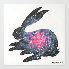 Astral Bunny 1 Canvas Print