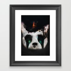 Dog ( Capalau) Framed Art Print