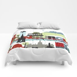 Edinburgh landmarks & monuments  Comforters