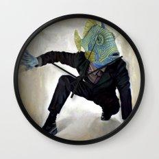 Superfish Wall Clock