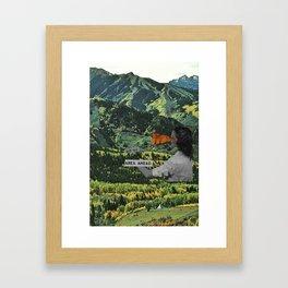 Keep This Area Ahead Framed Art Print