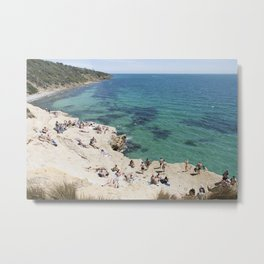 The Pillars Mornington Peninsula Metal Print