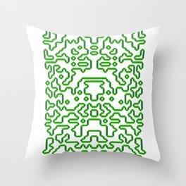 Ruban #2 Throw Pillow