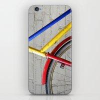 bike iPhone & iPod Skins featuring Bike by Marieken