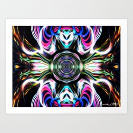 Soul Smoother Art Print