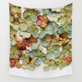 Hydrangea Petals no. 2 Wall Tapestry