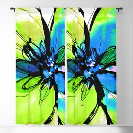 Ecstasy Bloom No.17k by Kathy Morton Stanion Blackout Curtain