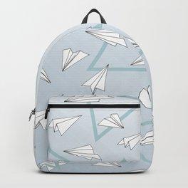 Paper Planes - Blue Backpack