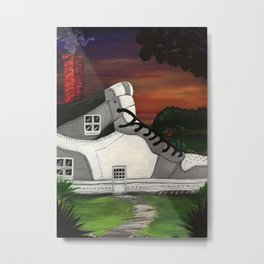 Shoe Value Metal Print