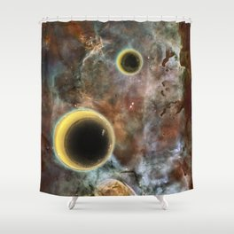 Crescent Mead Moons Shower Curtain