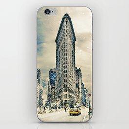 Flatron Building - New York City iPhone Skin