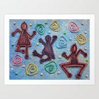 Dance Party Art Print