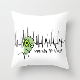 What's with this World? Throw Pillow